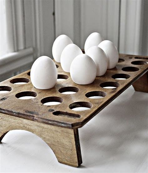 Egg Rack by Simple Wooden Egg Holder