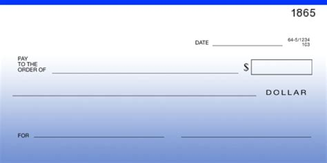 big check template free blank cheque template blank check vector pack blank check