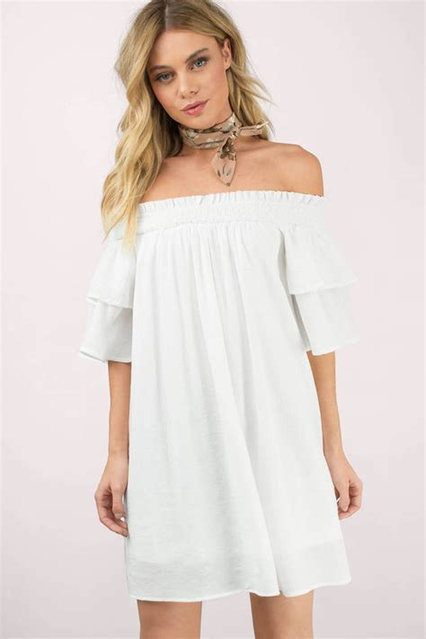 The Shoulder Lace Dress White the shoulder dresses maxi midi black white