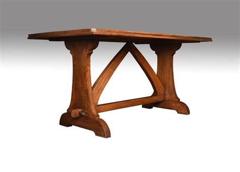 antique refectory table oak plank top refectory table antiques atlas