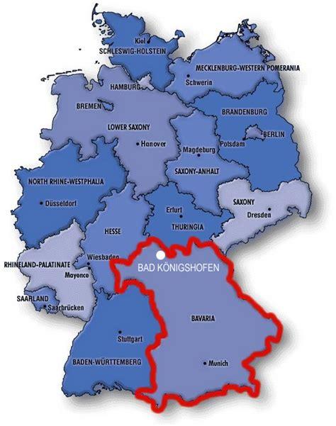 bavaria germany map locate bad k 246 nigshofen bad k 246 nigshofen our city