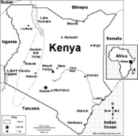 printable map kenya what s new at enchantedlearning com late november 2006