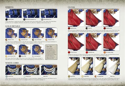 painting ultramarines workshop while the painting guide has a comprehensive stage by