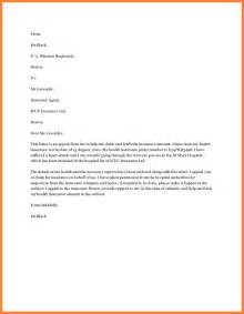 Insurance Claim Template Letter by 6 Insurance Letter Template Insurance Letter