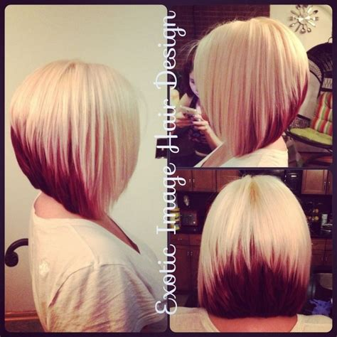 stacked bob haircuts dyed red 20 pretty bob hairstyles for short hair popular haircuts