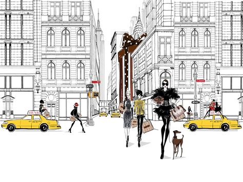 fashion illustration nyc a fashion illustrator s guide to the new york day observer
