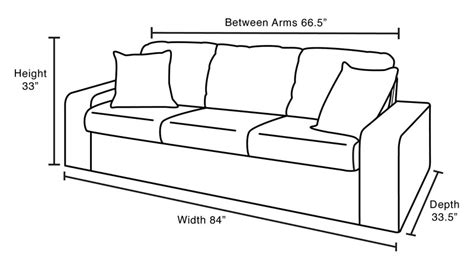 average sofa length average sofa dimensions smileydot us