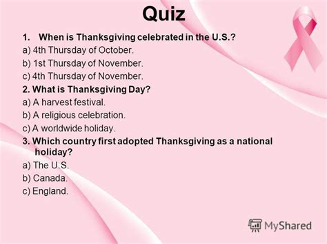 was thanksgiving a success quiz презентация на тему quot the american thanksgiving began as a feast of thanksgiving almost four