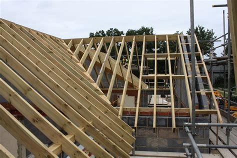 Pitched Roof Construction Carpentry Cgh Construction