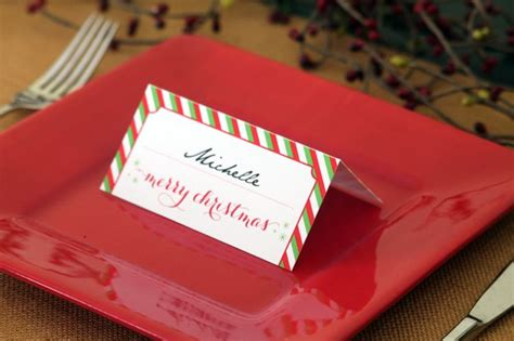 printable christmas place card holders 28 best diy name card holders images on pinterest