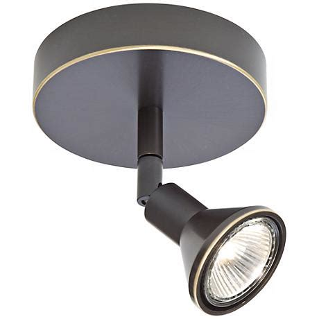 Lichtstar Old Bronze Round Canopy Spotlight Ceiling Ceiling Light Fixture Canopy