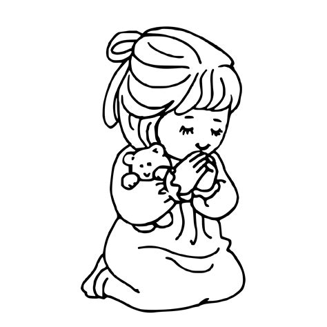 Black And White Praying Clipart 187 praying svg openclipart org commons wikimedia org colouringbook org