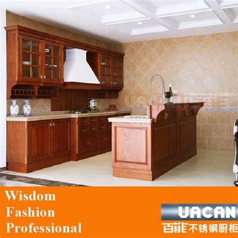 china american standard kitchen cabinet solid wood kitchen