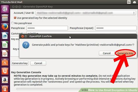 ubuntu how to encrypt how to use email encryption in ubuntu 7 steps with pictures
