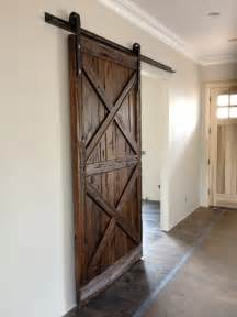 How To Make Interior Barn Doors Sliding Barn Door Wood Quot X Quot Contemporary Interior Doors By