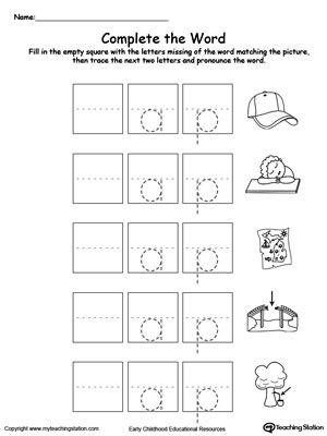 un pattern words complete the word ap word family myteachingstation com