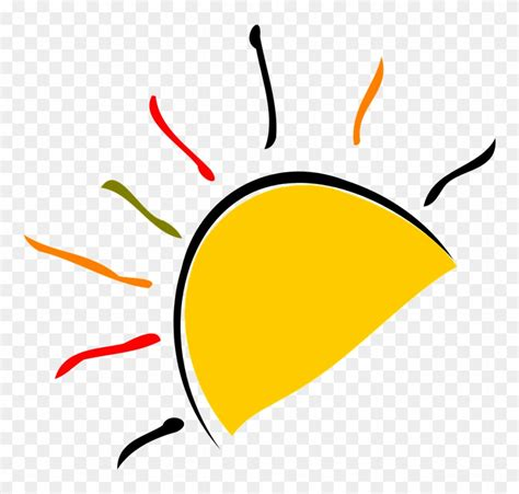 0007200285 half of a yellow sun half of a yellow sun free transparent png clipart images
