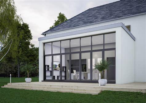 design veranda extension de maison design pour agrandir sa maison