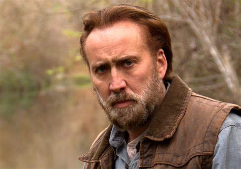 joe watch nicolas cage in an exclusive clip from david watch nicolas cage holds venomous snake in scene