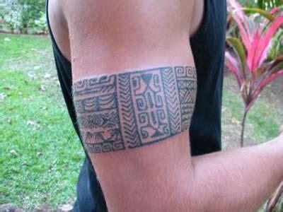 Armband Polynesian Grey Ink Tattoo For Men Tattooshunt Com Polynesian Armband Designs