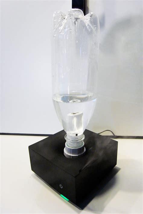 designboom water bottle one tenth pet bottle humidifier