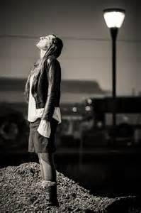 photo noir et blanc femme