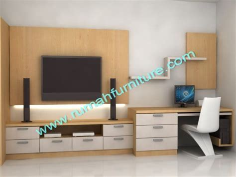 Wood Wall Ideas tv panel rak tv rumah furniture