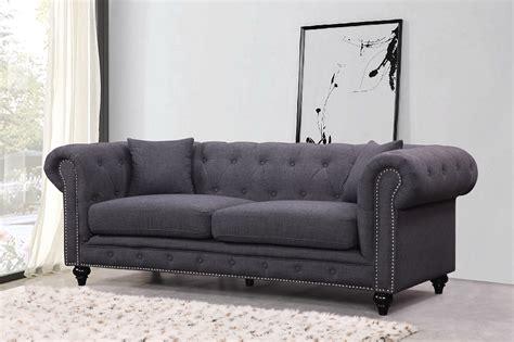 tufted loveseat gray kristopher chesterfield modern grey velvet tufted sofa loveseat