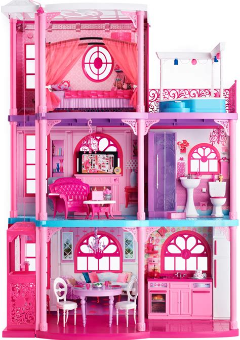 barbie dolls dream house europe real estate barbie 174 lists malibu dreamhouse 174