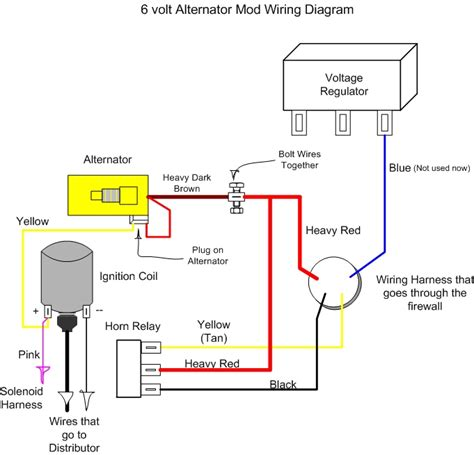 3 best images of 1 wire alternator wiring diagram chevy