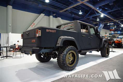 bandit jeep 2015 sema vpr bandit jeep cab up truck