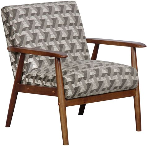 Wooden Accent Chair Prism Flannel Wood Frame Accent Chair From Pulaski Coleman Furniture