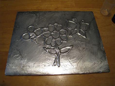 aluminum foil crafts for crafts 4 c foil drawings