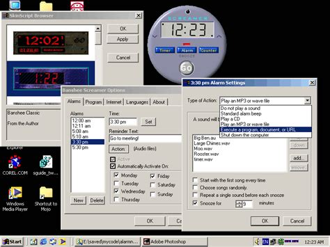 banshee screamer alarm window hanov solutions free multilingual skinnable alarm clock