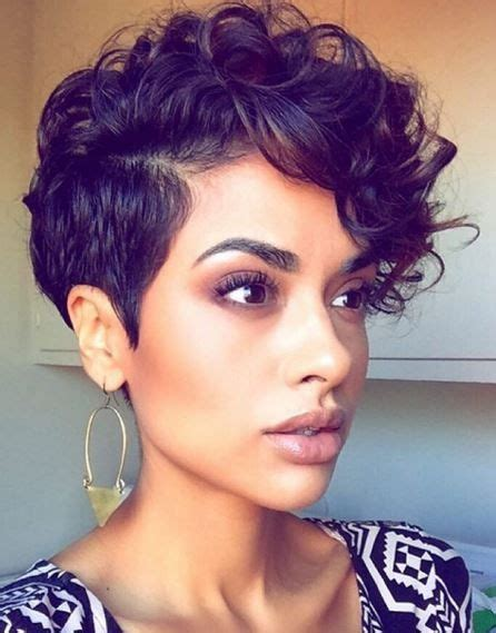 Curly Pixie Cut Hairstyles by 40 Wavy Curly Pixie Haircuts 2018 Pixie