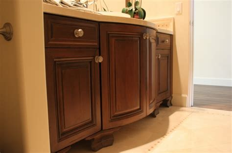 distressed bathroom cabinets distressed alder radius bathroom cabinet w l rubottom