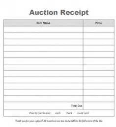 auction receipt template 1000 images about auction planning fundraising tools