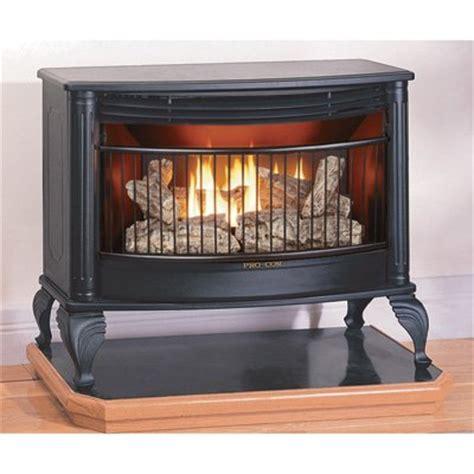 procom model vent free dual fuel stove winter cold