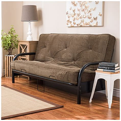 plush futon black futon frame with check plush futon mattress set