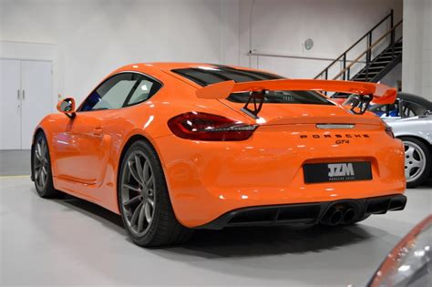 porsche cayman orange used 2016 porsche cayman gt4 for sale in kings langley