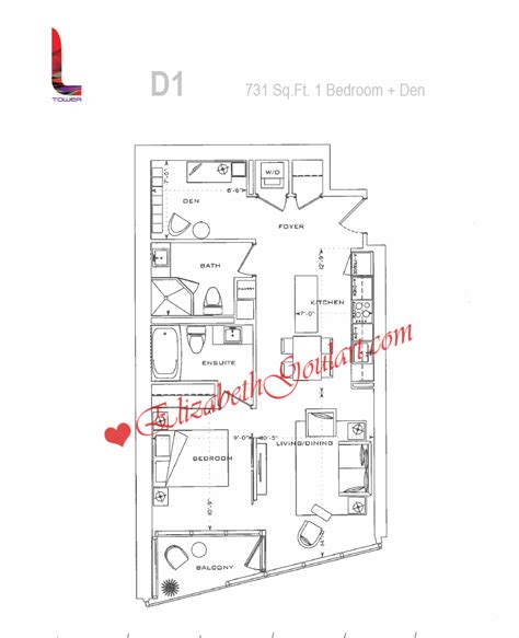 L Tower Floor Plans | 8 the esplanade l tower condos toronto floor plans elizabeth goulart broker