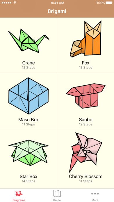origami learn origami learn how to make origami models on the app store