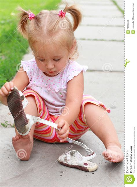 extra small girl very busy little girl stock photo image 21032690