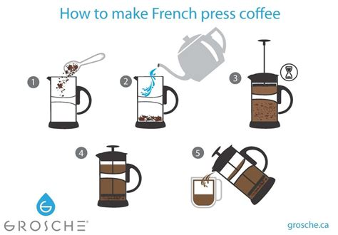 how to make press coffee at home grosche