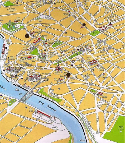 cartina porto mappa di porto cartina di porto