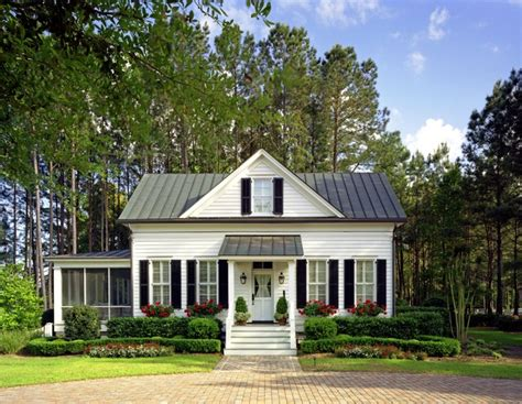 Classic Cottage Plans by Lowcountry Guest House Richmond Hill