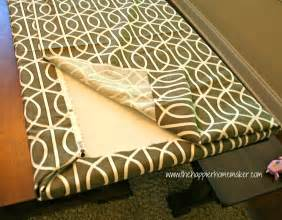 No Sew Patio Cushions by Fast No Sew Bench Cushion The Happier Homemaker