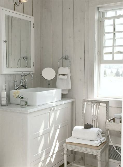whitewashed timber panelling stained  painted
