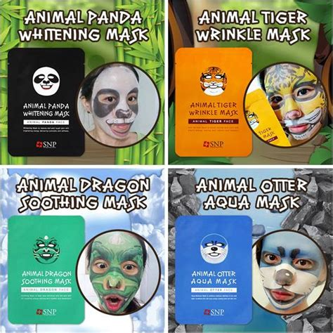 Harga Masker Wajah Animal jual snp animal mask masker animal animal mask