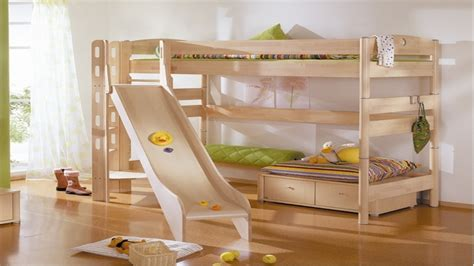 bunk beds with slides amazing modern bedrooms cool bunk beds with slides for